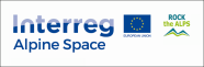 Logo INTERREG-Projekt Rock the alps
